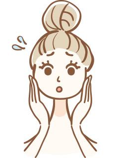 エラ、頬骨、目の高さの違和感